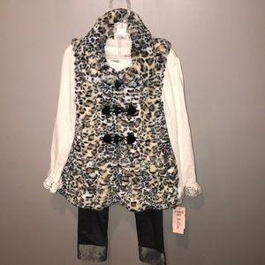 Little Lass 3pc outfit 🐆❣️
